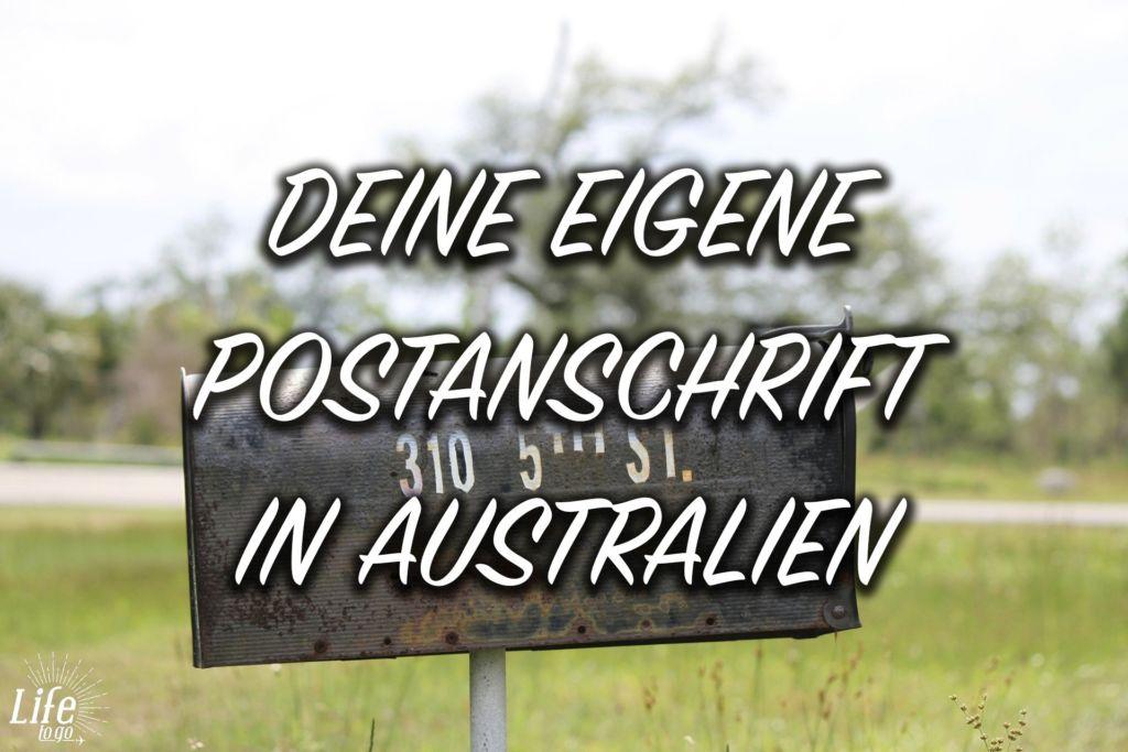 Deine eigene Postanschrift in Australien mit MojoKnows