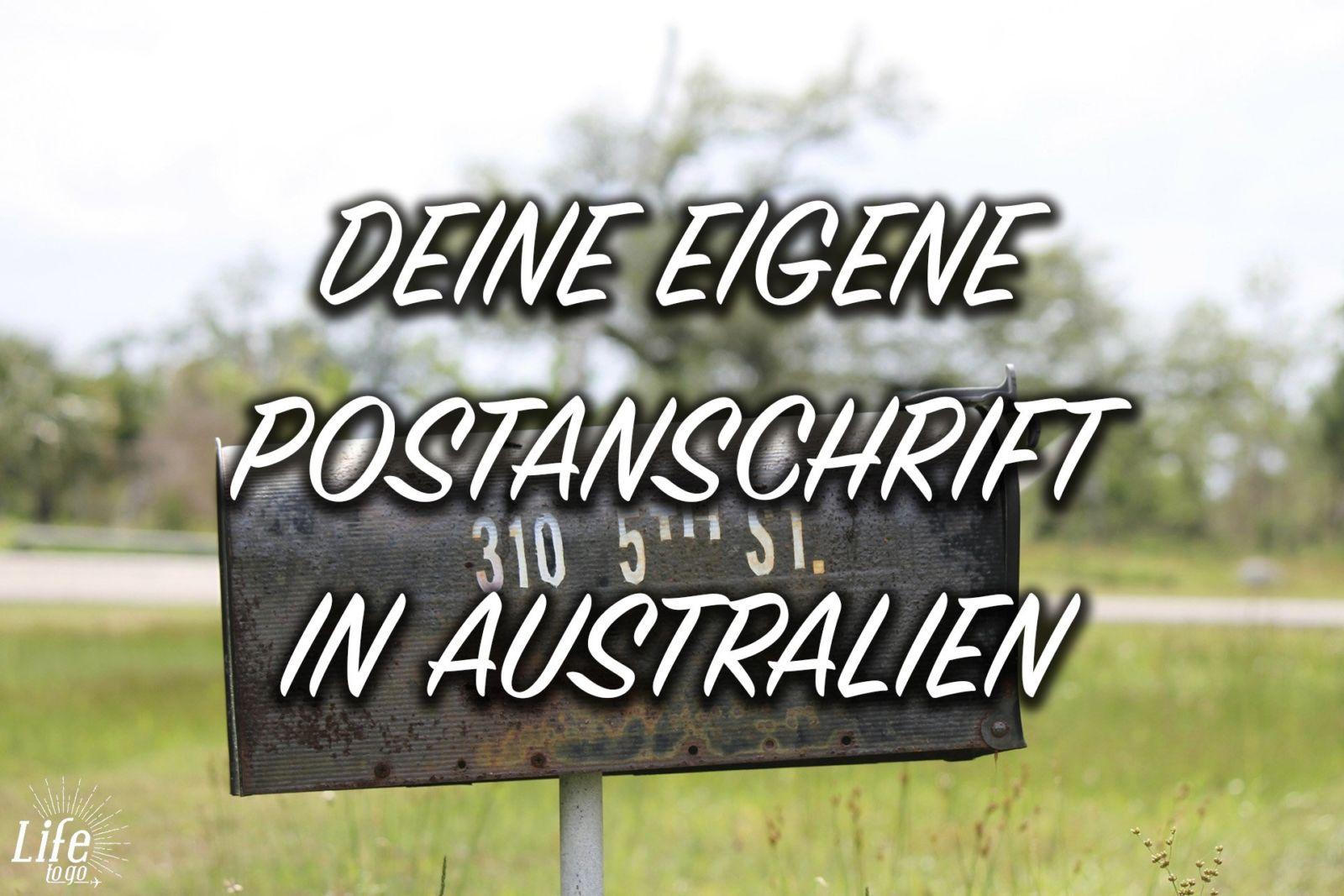 So bekommst du deine eigene Postanschrift in Australien