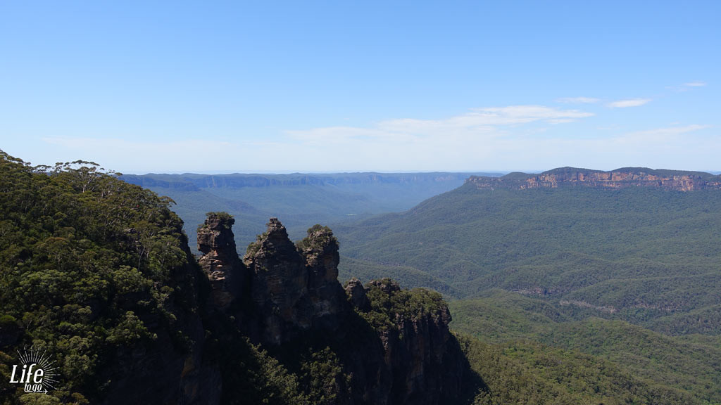 Die Blue Mountains und Three Sisters
