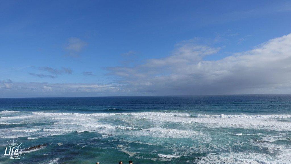 Wundervolle Aussicht auf der Great Ocean Road
