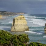 View zu den Gibson Steps auf der Great Ocean Road