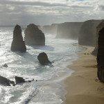 mystische Aussicht auf die Zwölf Apostel auf der Great Ocean Road