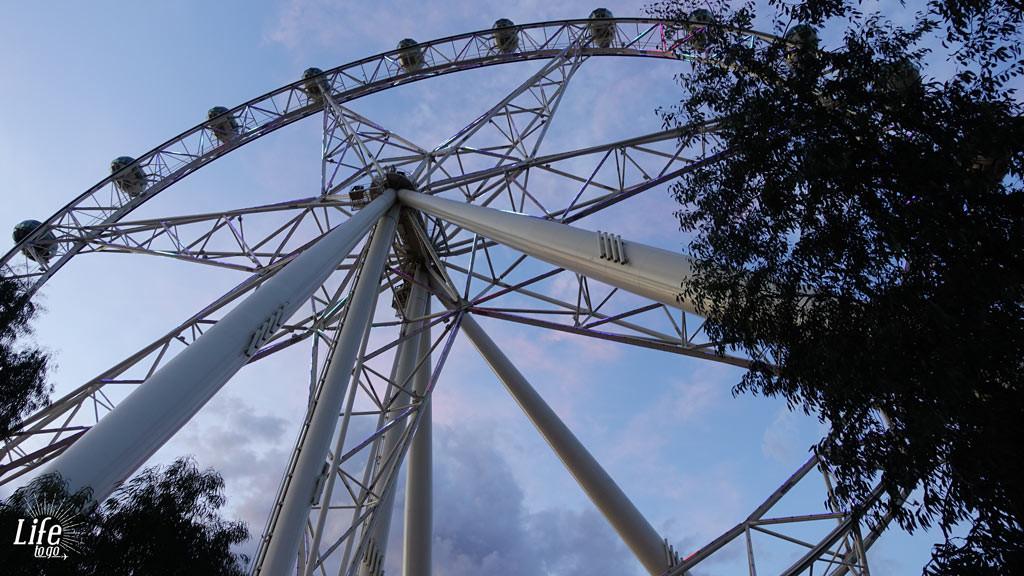 Das Melbourne Star Riesenrad  - Unsere Highlights von Sydney nach Melbourne