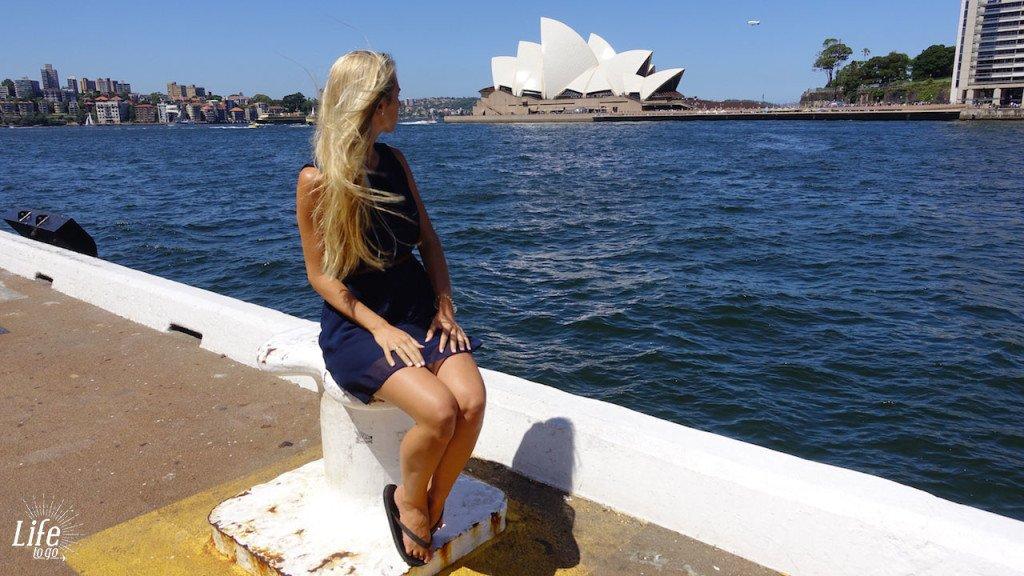 Viel Sightseeing in Sydney für wenig Geld.