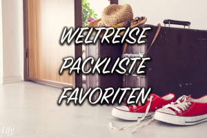 Die Favoriten auf unserer Backpacking Packliste