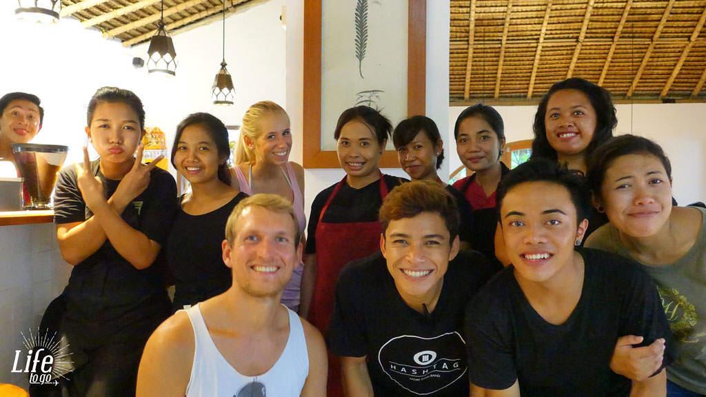 Unsere Freunde in Indonesien