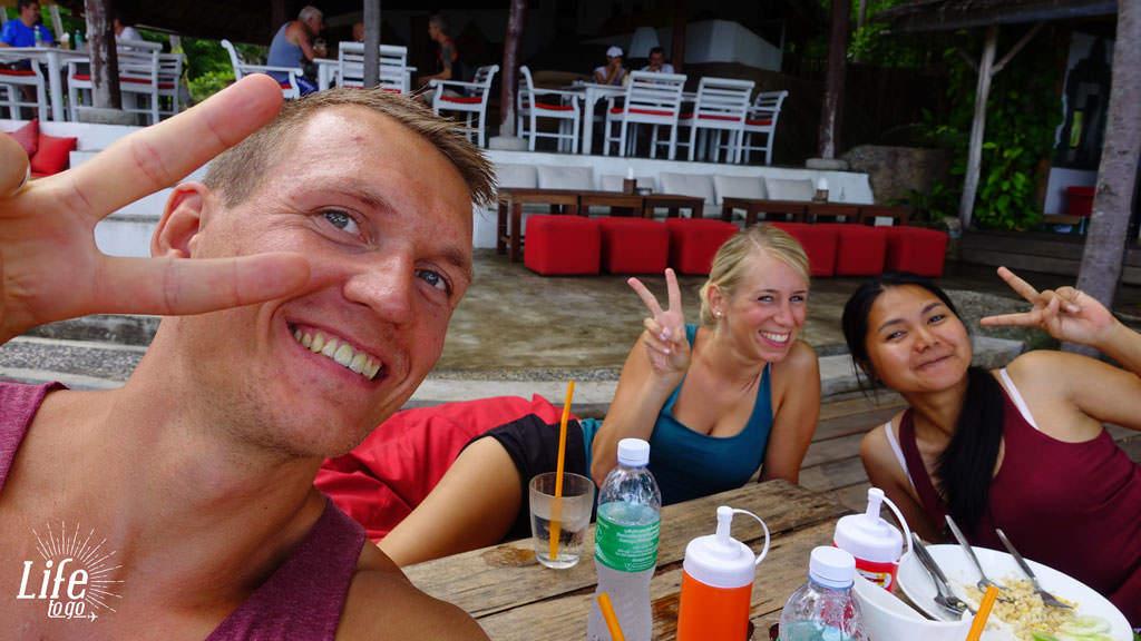 Unsere Freunde in Thailand
