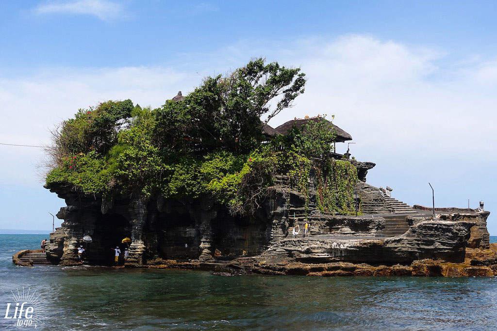 Der Meerestempel Tanah Lot