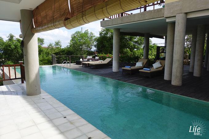 Adila Bali Pool Bereich