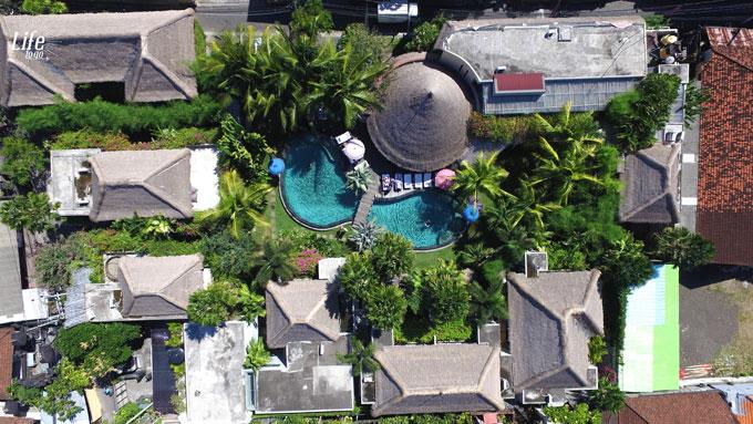 Lage des Blue Karma Resort Seminyak