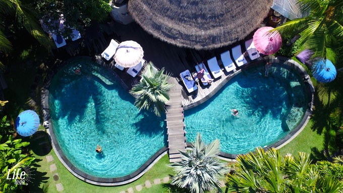 Pool im Blue Karma Resort Seminyak