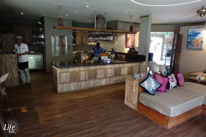 Restaurant im Blue Karma Resort Seminyak
