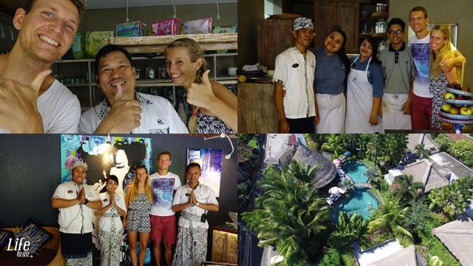 Crew und Staff im Blue Karma Resort Seminyak