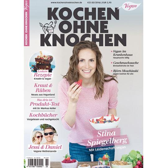 Life to go Bericht in der Kochen ohne Knochen Ausgabe