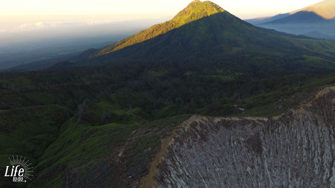 DJI Phantom 3 Drone Picture Mount Ijen Vulcano Java