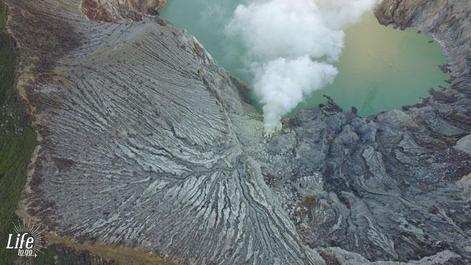 Drohnen Foto Mount Ijen Tour Java