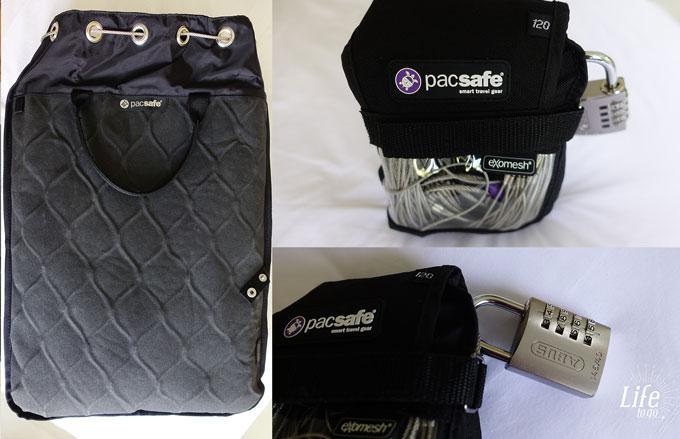 Schutz uns Sicherheit auf Reisen mit Pacsafe