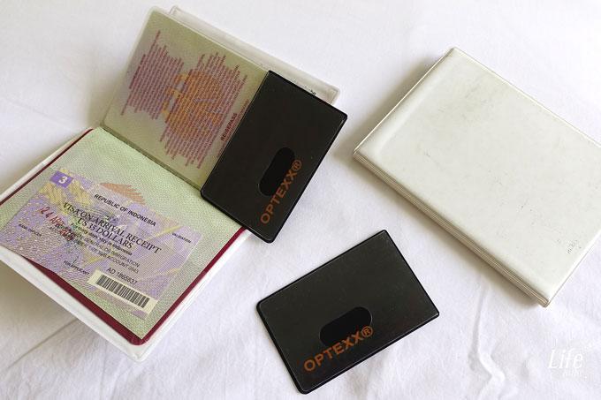 OPTEXX Schutzhüllen für Reisepass, Kreditkarten, Personalausweis und EC Karten