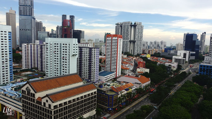 Airbnb Zimmer Ausblick Singapur