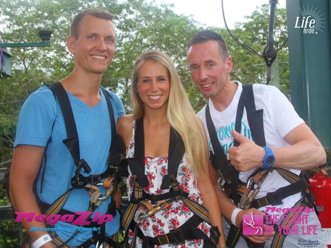 Sentosa Island MegaZip Adventure Park Ziplining Singapore