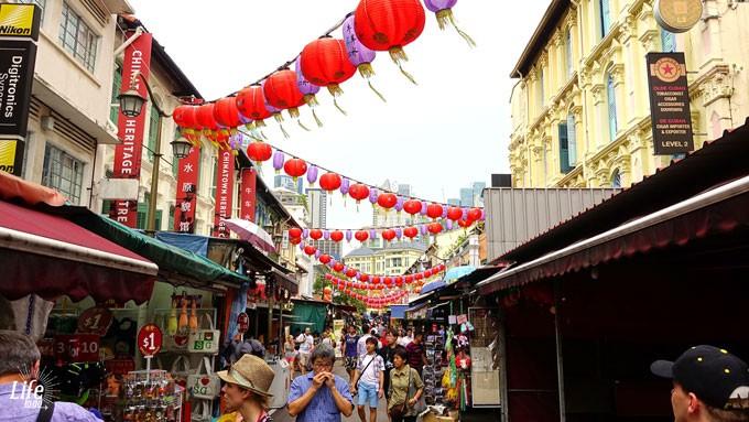 Chinatown Singapur am Tag
