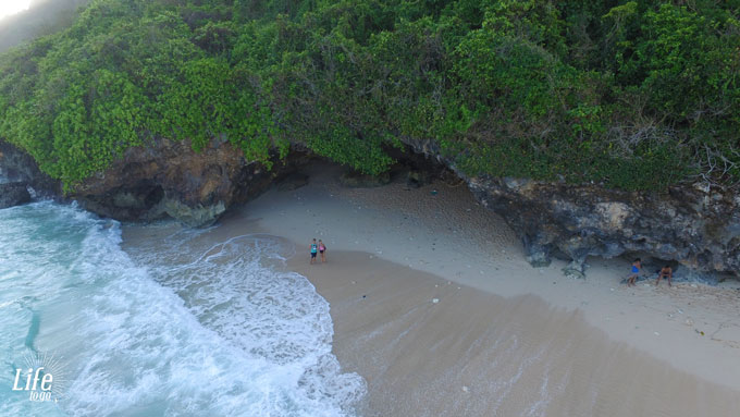 Green Bowl Beach - die schönsten Strände auf Bali