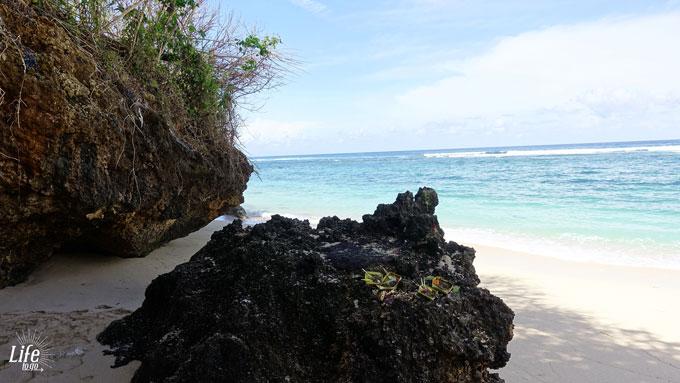 Gunung Pajung Beach Felsen