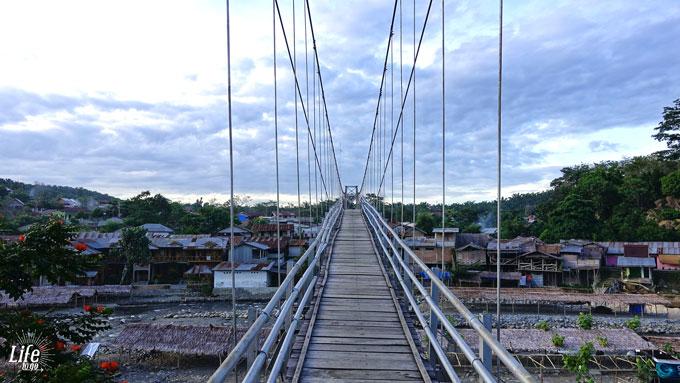 Hängebrücke in Bukit Lawang