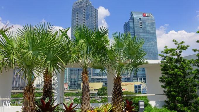 Ayaka Suites Hotel Jakarta Dachterrasse