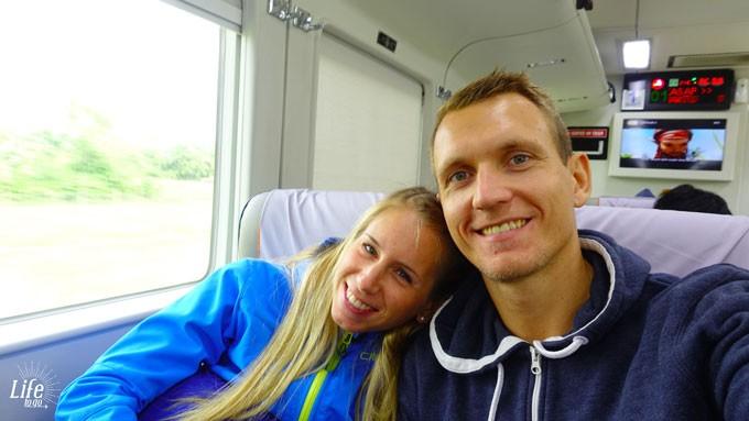 Inside the Executive Class Train from Jakarta to Yogyakarta