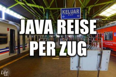 Java Reise per Zug