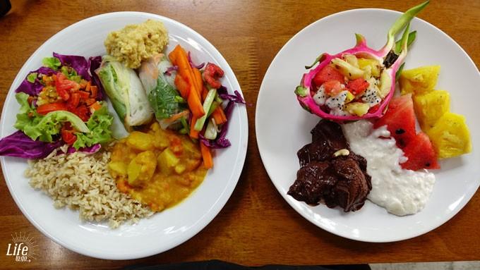 Vegane Weltreise und ein geniales Buffet auf Koh Phangan