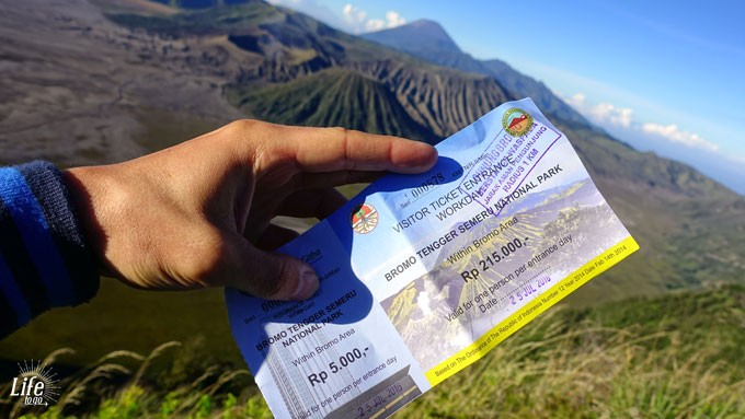 Bromo Entrance Ticket