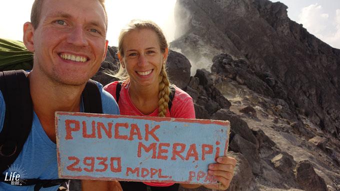 Peak of Puncak Merapi