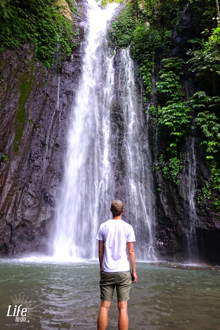Secret Waterfall in the North of Bali
