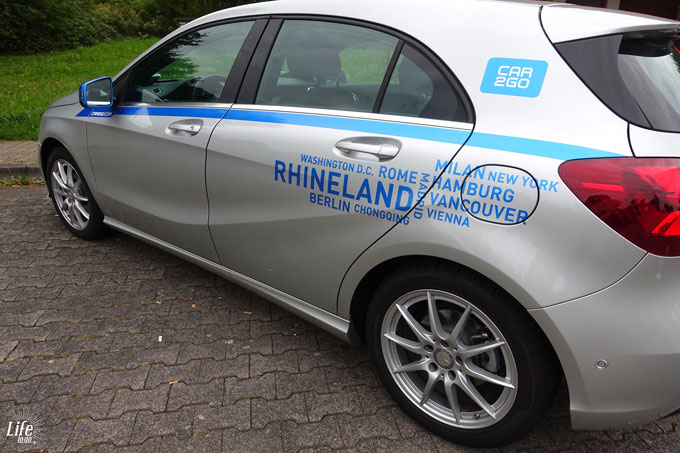 car2go Mercedes Benz A-Klasse