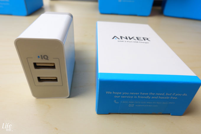 Anker 2-Port USB Ladeadapter