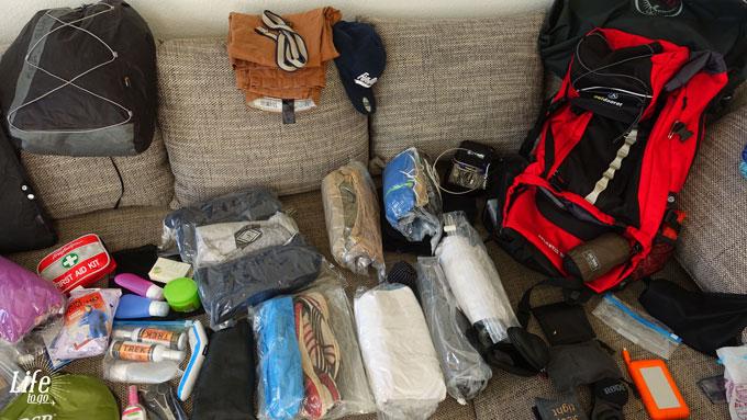 Die perfekte Weltreise Packliste Kleidung