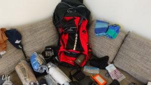 Weltreise Packliste Rucksack und Kleidung