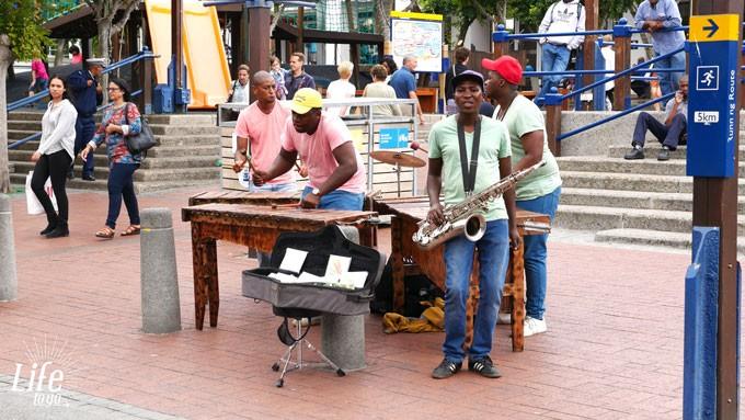 Kapstadt Straßenmusiker