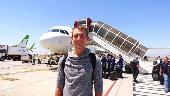 Anreise nach Südafrika mit South African Airways