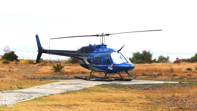 NAC Helicopters Kapstadt