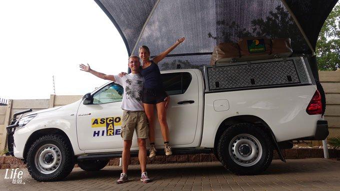 Mietwagen von ASCO in Namibia