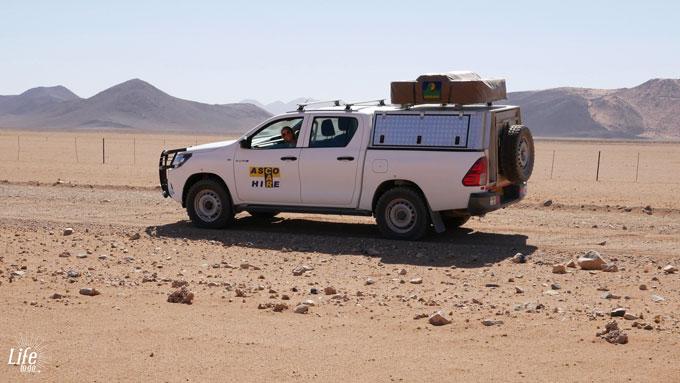 ASCO Mietwagen Toyota Hilux
