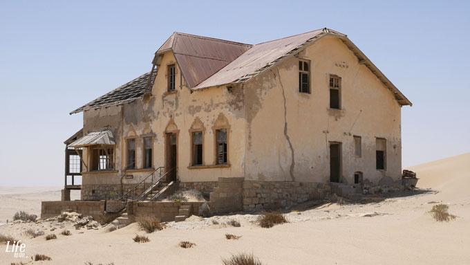 Buchhalter Gebäude Kolmanskop - Geisterstadt in Namibia