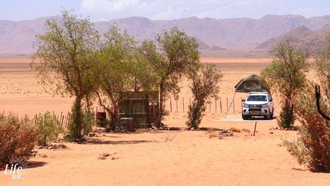 Camping Guestfarm Gunsbewys Namibia auf der D707