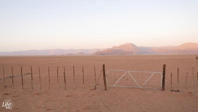 Camping in der Wüste von Namibia