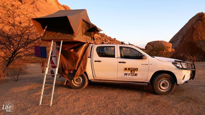 Camping auf Namibias Spitzkoppe