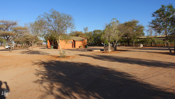 Camping in Solitaire Namibia