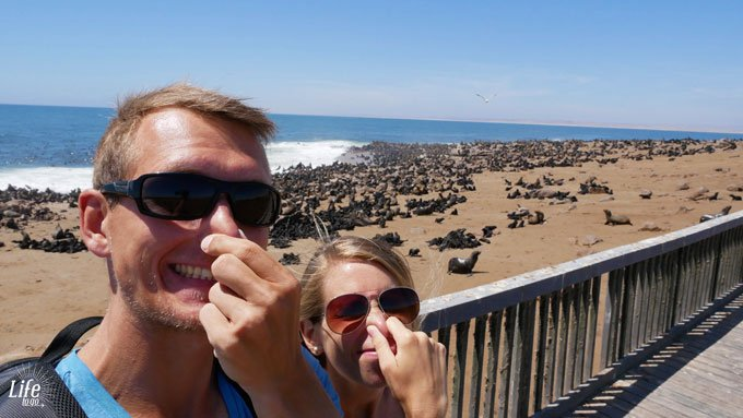 Cape Cross Seal Reserve übler Geruch